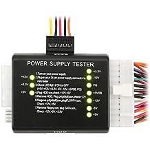 TOOGOO(R) Tester Comprobador de Fuentes Alimentacion ATX para PCs