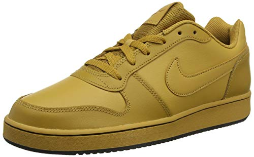 sports shoes 69555 a1748 Nike Ebernon Low, Zapatos de Baloncesto para Hombre, Beige Wheat Black 700,