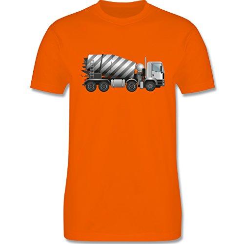 andere-fahrzeuge-betonmischer-fahrmischer-xs-orange-l190-herren-premium-t-shirt