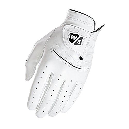 Wilson Herren FG Tour Golf-Handschuh, Mlh, L, White, L