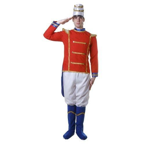 dress up America Erwachsenen Spielzeug Soldat Kostüm Set mit Jacke/Hose//Booth Abdeckhüllen und hat (XL)