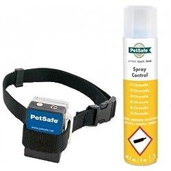 PetSafe Anti Bell Sprühhalsband, umweltfreundliches Zitronella Spray, Mikrofon Sensor, wetterfest, für Hunde - 88.7 ml