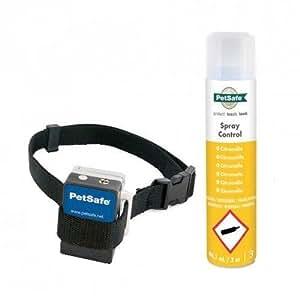 PetSafe - Collier Anti-Aboiement à Spray / Vaporisation pour Chien + 1 Recharge, Léger, Imperméable - Citronnelle