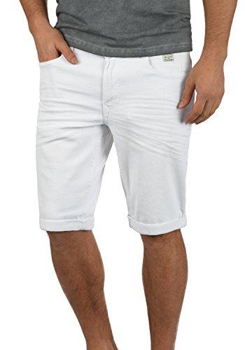 BLEND West 20703791ME Denim Shorts , Größe:L;Farbe:Offwhite (70005) (Weiße Denim-jean-shorts)