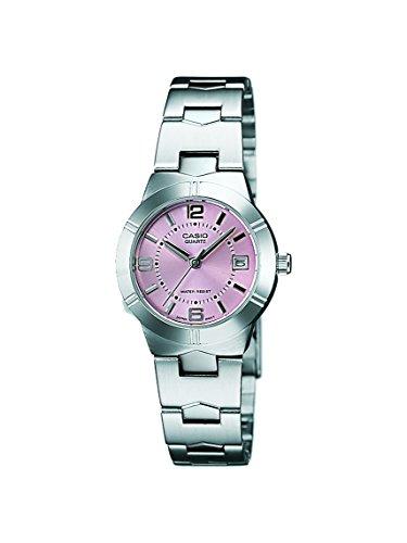 4196K8CIKFL - Casio LTP 1241D 4ADF A873 Enticer Pink Women watch