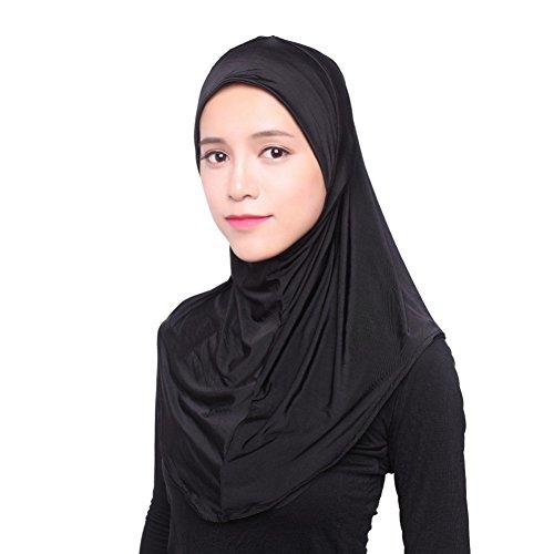 EFINNY Frauen Kopftuch Hijab Muslimische Kopftuch Cap Islam Maxi schal