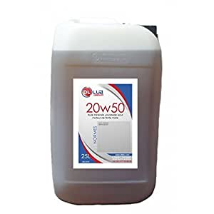 DLLUB - HUILE MINERALE SAE 20W50 - 25 litres