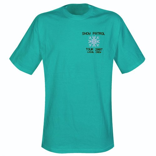 Snow Patrol T-Shirt - Local Crew grün Groesse L -