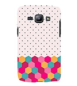 FUSON Colorful Dotted Textures 3D Hard Polycarbonate Designer Back Case Cover for Samsung Galaxy Win I8550 :: Samsung Galaxy Grand Quattro :: Samsung Galaxy Win Duos I8552