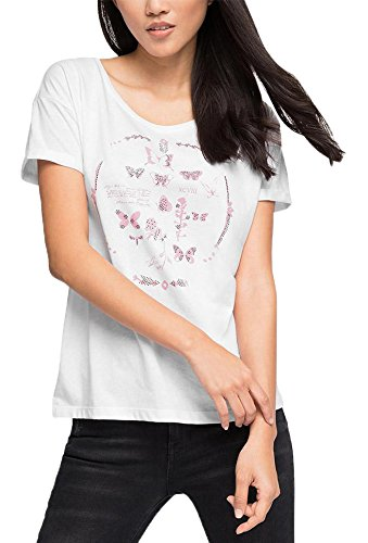 edc by Esprit Mit Print, T-Shirt Femme