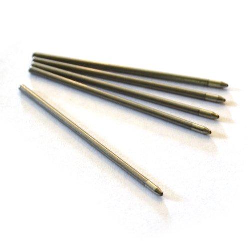 Dockem Schwarze Tinte Nachfüllpatrone 14cm Touch-Stift und Kugelschreiber Kombination (für Artikel und DCKMST14 DCKMST14-GBX) -