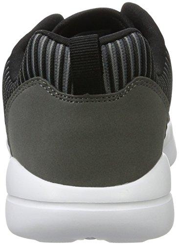 Kappa Streak, Sneakers Basses Mixte Adulte Gris (1611 Grey/black)