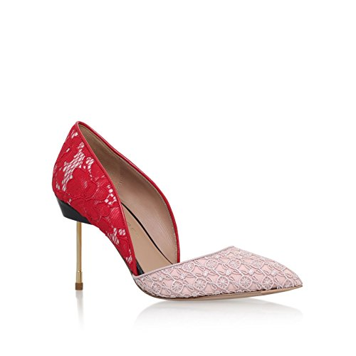 Kurt Geiger London Beaumont Red/ Pink Leather Court Shoes (UK 5 /...