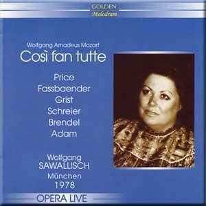 Mozart - Cosi fan tutte - Wolfgang Sawallisch (2 CD Set)