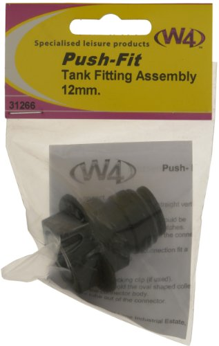 W4 Tank Fitting Assembly (Pack of 2) - Black -