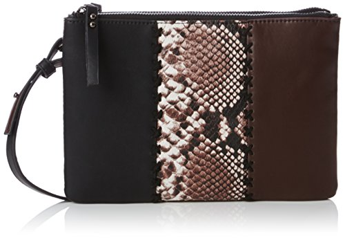 french-connection-rosa-whipstitch-duo-zip-bag-bolso-cruzados-para-mujer-negro-black-blk-ptchwrksnk-b