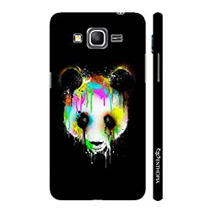 Enthopia Designer Hardshell Case Dripping Panda Back Cover for Samsung Galaxy J7