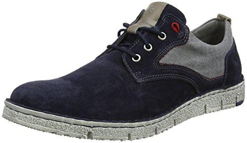 Josef Seibel Herren Ruben 01 Sneaker, Blau (Jeans-Kombi), 43 EU -
