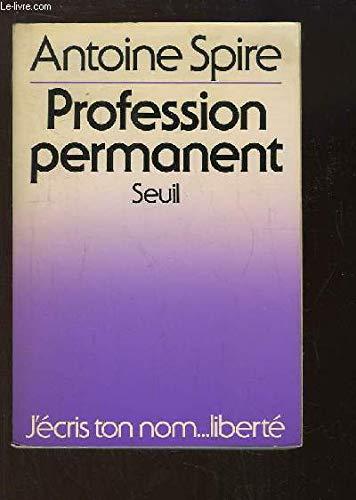 Profession, permanent