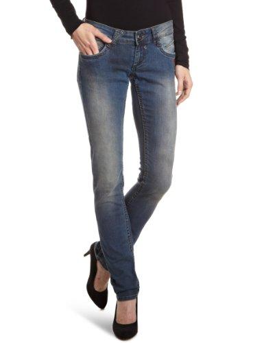 Gang Damen Jeans SALT-stretch denim dirty blue Skinny/Slim Fit (Röhre) Niedriger Bund Blau (2268/dirty blue)