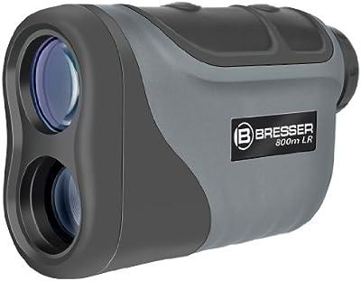 Bresser 4025820 - Monocular (6 x 25, laser), negro y gris