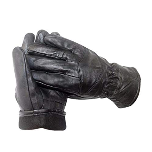 unisex touchscreen lederhandschuhe