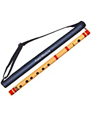 Foxit Professional Flutes D Sharp 6 Hole Bansuri Size 16 in
