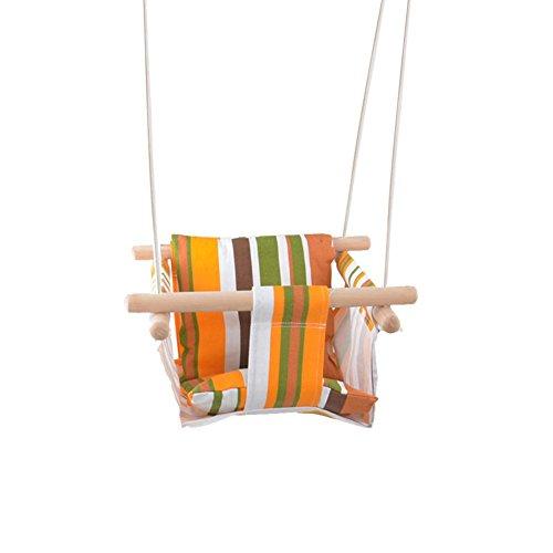 chte Sicherheits-Segeltuch-Baby-Schaukel-Stuhl, tragbare hängende Sitz-Hängematte für Kleinkinder, Innen-im Freien Baby-Hängematte Chai ()