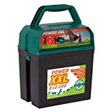 Power XXL B 12.000 | Starkes Weidezaungerät 9V/12V | Megapower zum Kampf-Preis | Elektrozaungerät für Ihren sicheren Weidezaun | Rind Pferd Pony Hund Katze Schaf Geflügel