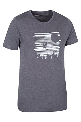 Mountain Warehouse Nighthawk Herren-T-Shirt Kohle