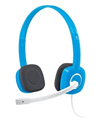 Logitech H150 Stereo Headset with Mic - (Blue)
