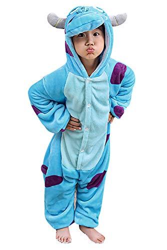 Dolamen Kinder Unisex Jumpsuits Kostüm Tier Onesie Nachthemd -
