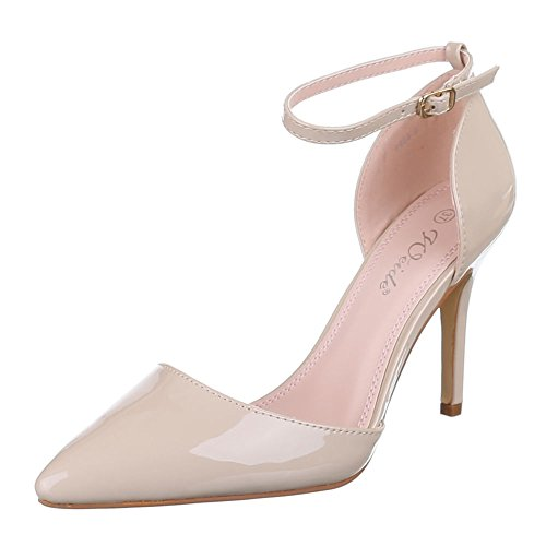 Design Ital Beige compensées Beige chaussures femme aw0Oqdw1