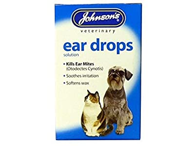 (3 Pack) Johnson's Vet - Ear Canker Drops 15ml by Johnson's Vet