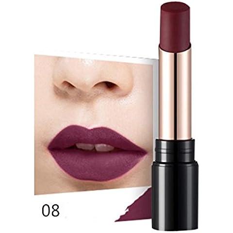 Fortan Sexy idratante Long Lasting impermeabile rossetto opaco trucco Glossy Lip Gloss - H