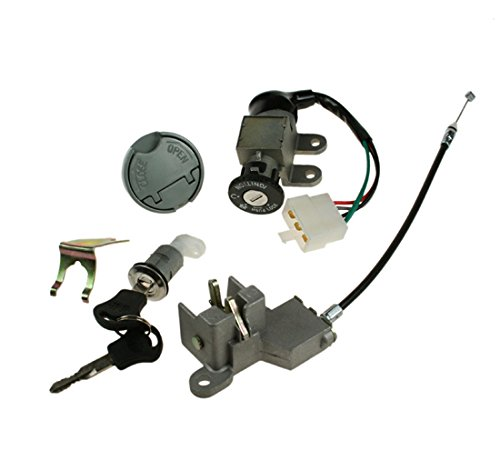 Price comparison product image Key Ignition Lock Set 50cc Pulse Scout Direct Bike DB50QT-11 JMstar JSD50QT-13