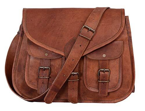 Damentasche aus echtem Leder von KPL, Schulter-/Crossbodytasche, Einkaufstasche, 35,6 cm