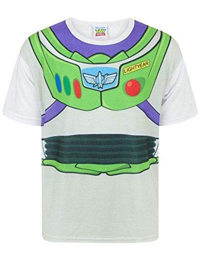 Toy Story Disney Buzz Lightyear Costume Boy's T-Shirt (7-8 years)