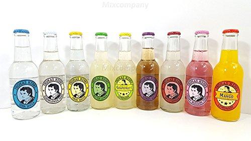 Thomas Henry 9er Set - Soda Water, Elderflower Tonic, Tonic Water, Bitter Lemon, Grapefruit Lemonade, Ginger Ale, Spicy Ginger, Cherry Blossom Tonic, Mango Lemonade