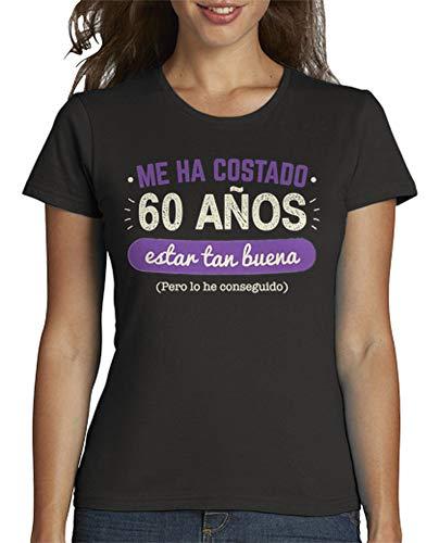 Latostadora - Camiseta 60 Anos Mujer Gris
