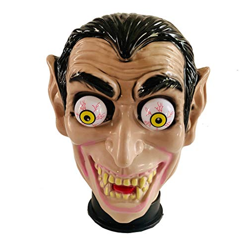 Realistischer Kostüm Für Werwolf Verkauf - Huacat Halloween Mask Novelty Creepy Spring Eyeball Masquerade For Party Prom Upside Down Oben Unten Maske perfekt für Fasching Karneval Kostüm Erwachsene Latex