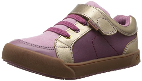 pediped Mädchen Dani Sneaker, Pink (Dusty Rose Dark), 31 EU
