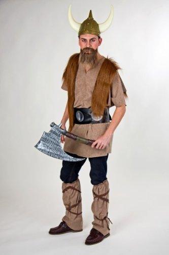 Kostüm für Erwachsene Wikinger (Wikinger Kostüme Tapfere)