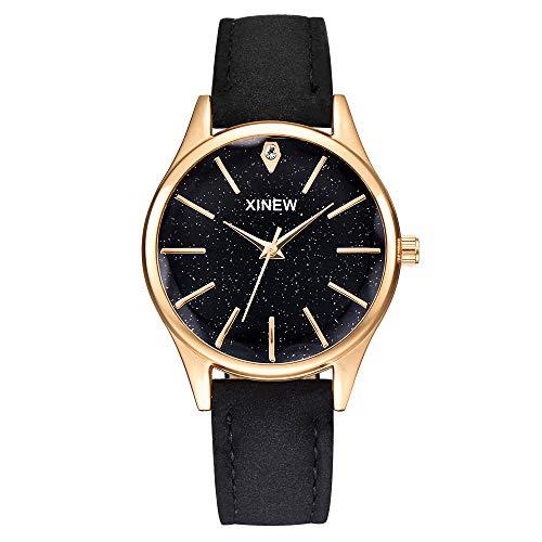 Neuer Trend  Armbanduhr Damen Einfache Edelstahl Uhren, Frauen Klassisch Mode Analog Quarz Uhren mit Mesh Wrist Watch Ultradünne Damenuhren Geschenk 2019 Neu LEEDY