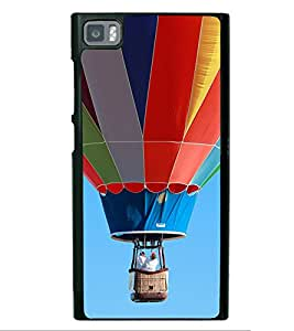 Multi Colour Hot Air Balloon 2D Hard Polycarbonate Designer Back Case Cover for Xiaomi Redmi Mi3