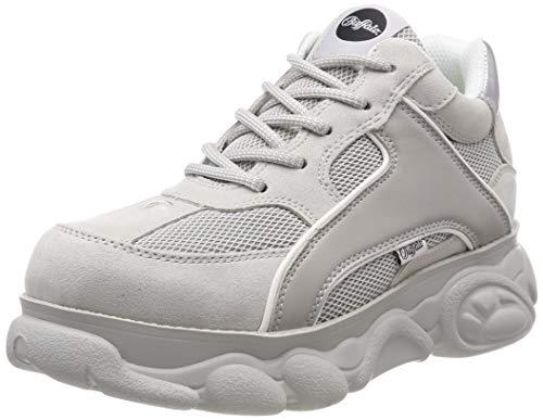 Buffalo Damen Colby Sneaker, Grau (Lt Grey 000), 39 EU