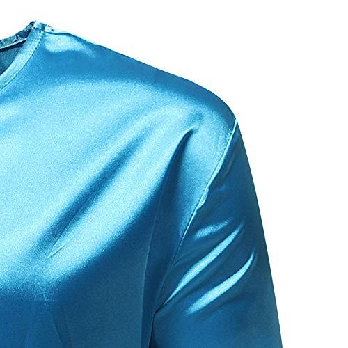 972c56e6741293 Styledresser promozione Giacche E Cappotti da Uomo,T Shirt Uomo Camicia  Dashiki A Manica Lunga con Stampa Africana di Lusso Autunno Inverno Maschile