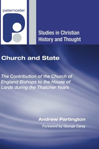Church and State (Studies in Christian History and Thought)