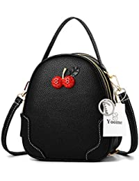 0b9e102fd4ec Yoome Women Cute Mini Crossbody Shoulder Clutch Girls Cherry Purse Wallet Small  Handbags