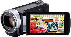 JVC GZ-E200BEK Full HD Everio Memory Digital Camcorder - Black (40x Optical Zoom) 3.0 inch Touchscreen